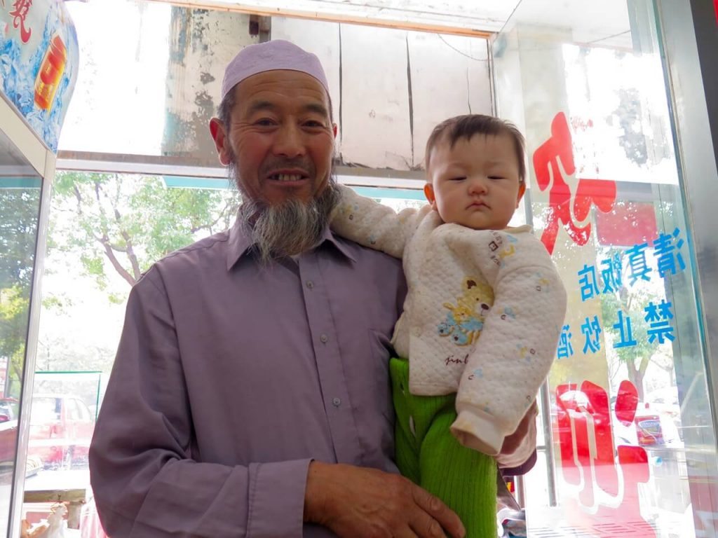 I made friends with this old man and his baby in the noodle shop we all frequented. ©KettiWilhelm2015