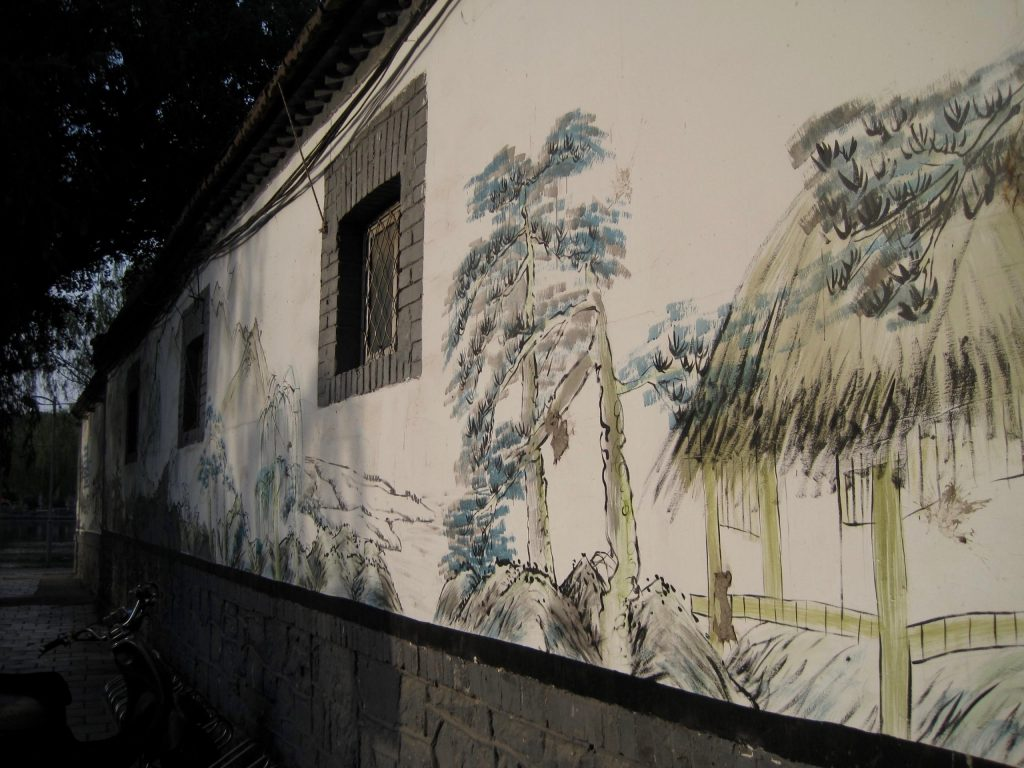 It's not the Great Firewall of China, but you don't need a VPN to get around this beautiful painted wall in China. ©KettiWilhelm2014