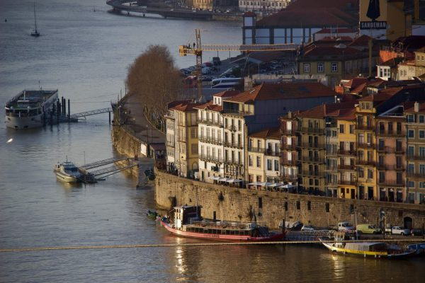 Boats on Porto's riverfront on the Douro River. ©KettiWilhelm2020