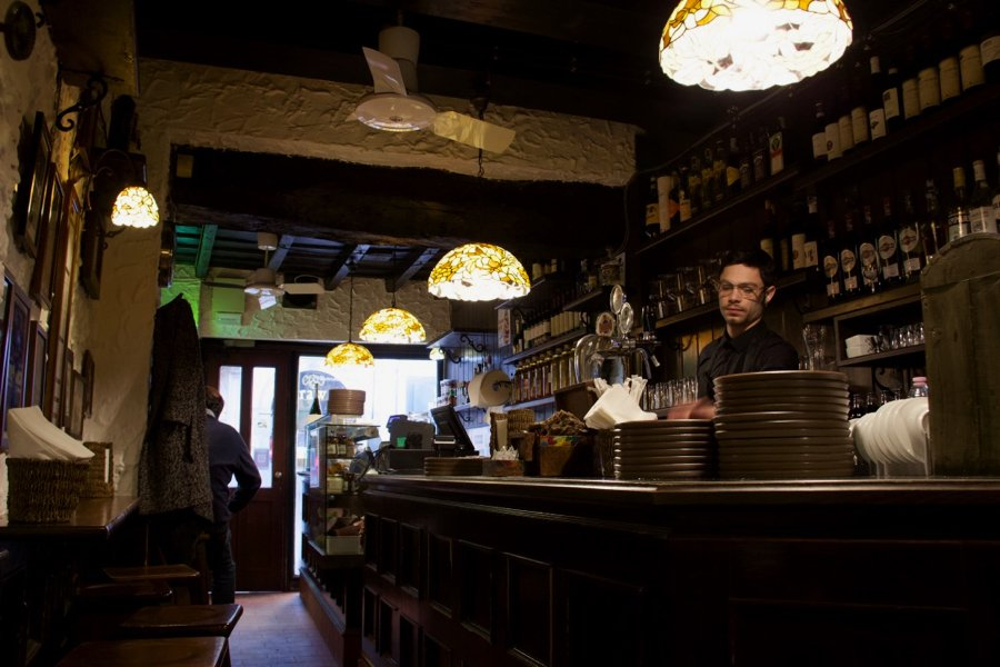 Inside De Santis, my favorite sandwich shop in Milan, Italy. ©KettiWilhelm2020