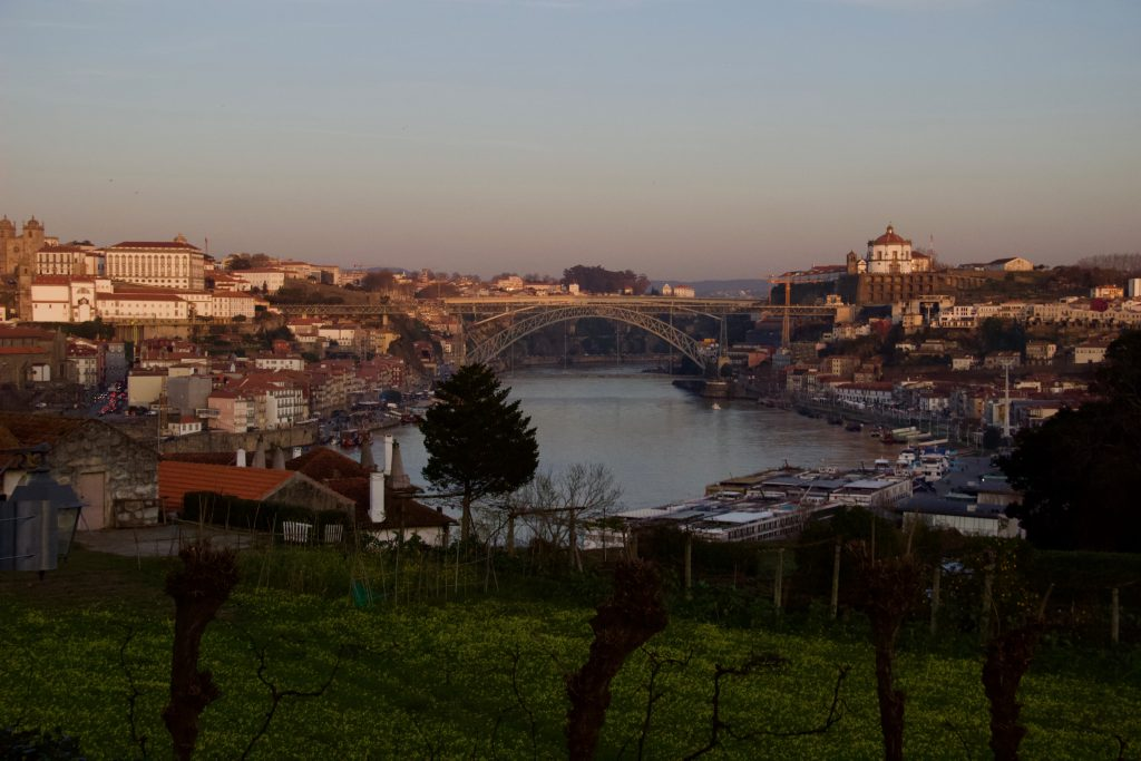 The view from Graham's Port Wine Lodge: Porto on the left, Gaia on the right. ©KettiWilhelm2020