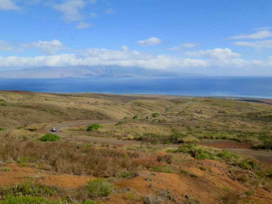 A view of the desert-like landscape of Lanai, one of the least traveled islands of Hawaii. ©KettiWilhelm2020