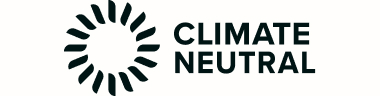 The logo for Climate Neutral, which recently certified Earthling Co. as a completely carbon-neutral beauty brand.